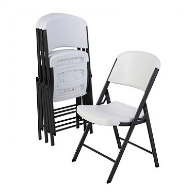 White/Grey Chairs