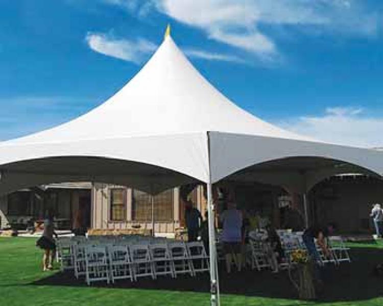 35' x 40' Hexagon Party Tent