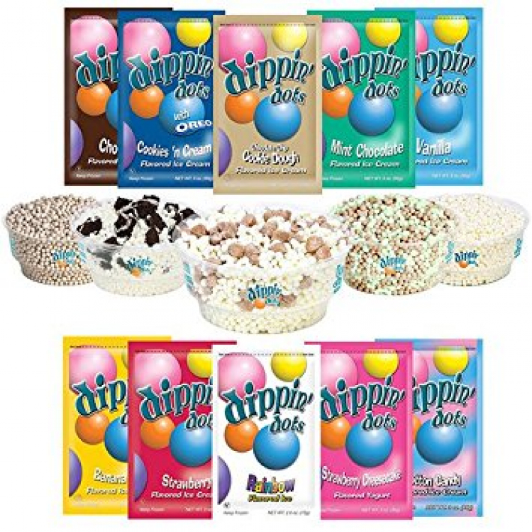 Dippin' Dots 24 Pre-Packs