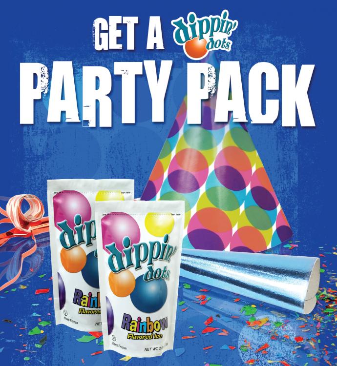 Dippin' Dots Party Packs